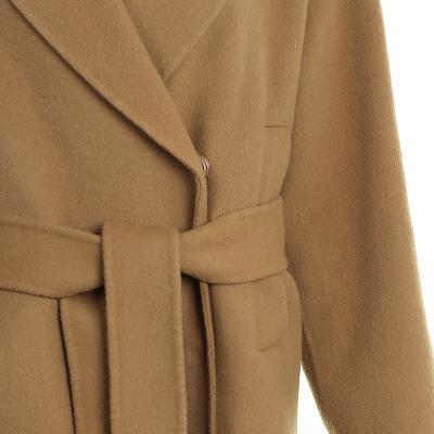simple design coat brown